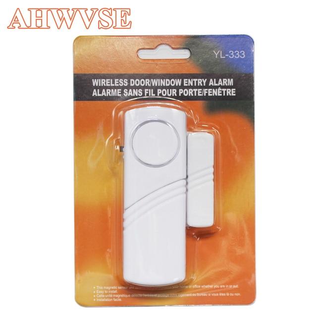 10pcslot Door Sensors Protection Magnetic Sensor Wireless Home