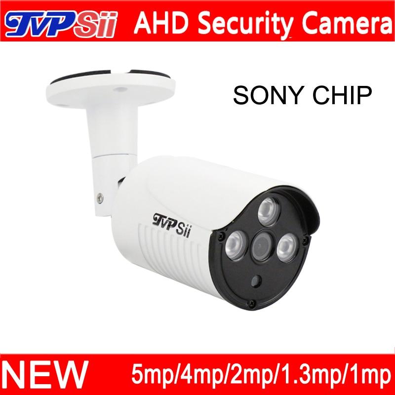 4pcs a Lot 5MP/4MP/1080P/960P/720P Metal Case Three Array Infrared Leds Waterproof AHD Surveillance CCTV Camera Free Shipping beauty clinic маска крем ночная для лица с n m f 15 мл