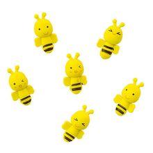 96 pc/lot mignon abeille modèle animal gomme en caoutchouc/papeterie pour enfants étudiants/belle gomme cadeau/vente en gros