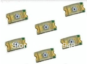 무료 배송 50 개/몫 광 의존 저항 ldr smd 0805 photoresistor