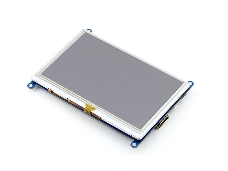 Waveshare 5 zoll HDMI LCD (B) 800*480 Resistive Touch Screen, 5 ''HDMI LCD/monitor, Unterstützung Windows 10/8. 1/8/7, verschiedene systeme