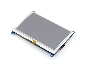Image 3 - Waveshare 5inch HDMI LCD (B) 800*480 Resistive Touch Screen,5 HDMI LCD/monitor,Support Windows 10/8.1/8/7,various systems