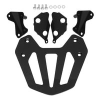Rear Carrier with Mount Kit For Honda GL1800 Goldwing F6B 2013 2014 Black Motorcycle