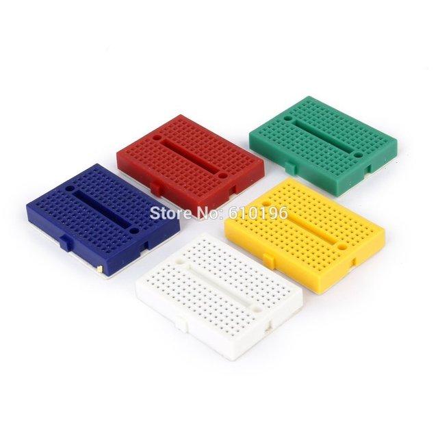 1 PCS SYB-170 Mini Solderless Prototype Breadboard 170 Tie-pontos para ATMEGA PIC Arduino UNO