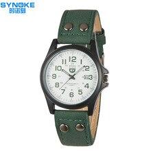 2016 Moda Casual Para Hombre Relojes de Primeras Marcas de Lujo Reloj de Cuarzo de Negocios de Cuero Hombres Reloj militar Del Relogio masculino Deporte