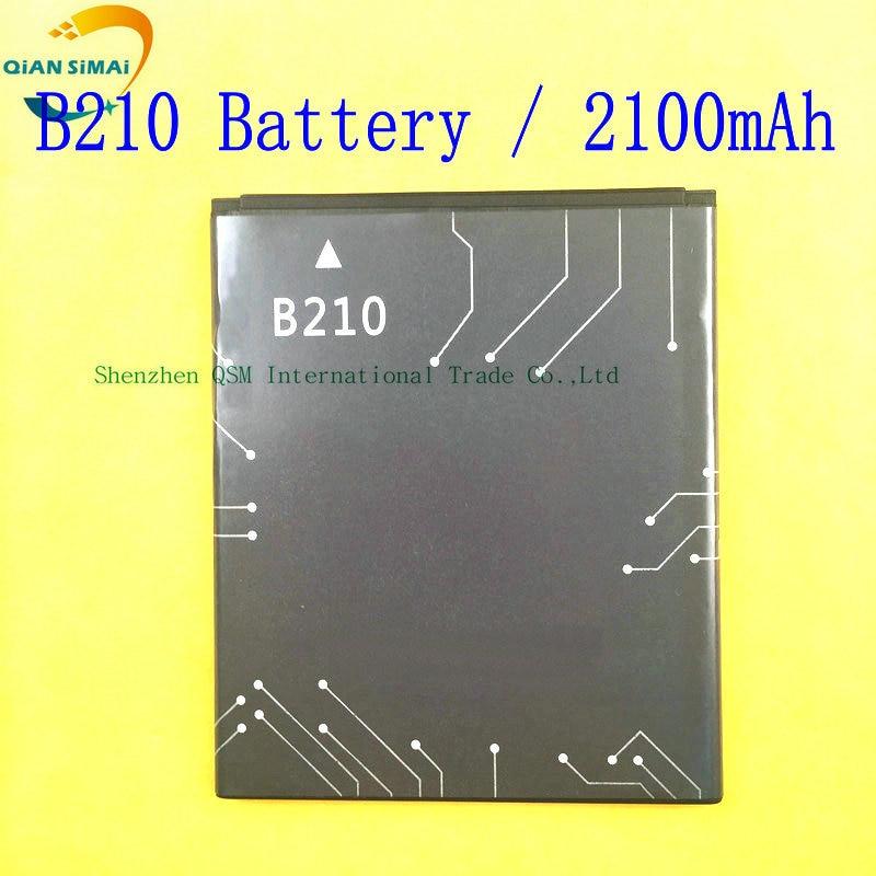 QiAN SiMAi 1PCS 2100mAh B210 New original battery for Prestigio MultiPhone PAP 5300 Duo B210 Batterij Bateria