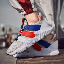 2019 spring new mens shoes trend couple Korean casual students running sports