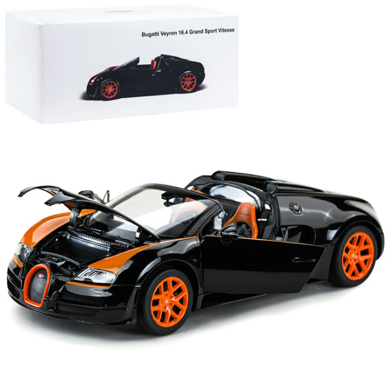 1:18 Car Model Toys Bugatti Veyron 16.4 Grand Sport Vitesse Diecast Racing Car Model Vehicle Origin Box F Kids Christmas Gifts