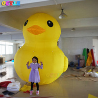 OCYLE 3m/4m/6m giant inflatable yellow promotion duck,giant sitting inflatable duck,giant inflatable water floating duck