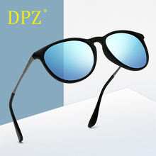 b331c94c00 2019 DPZ De las mujeres De la moda 4171 polarizadas gafas De Sol hombres  Vintage clásico Erika rayos gafas De Sol Oculos De Sol .