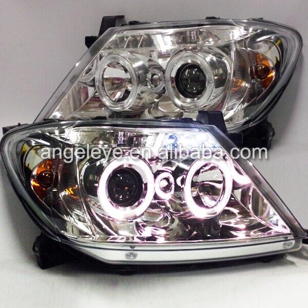 2004-2010 year For TOYOTA For Hilux Vigo LED Angel Eyes Headlights Head lamp Chrome Housing SN