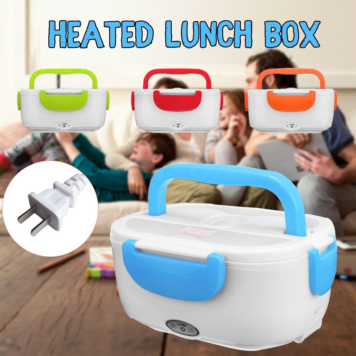 Lunch Box Riscaldamento elettrico Portatile Auto Lunchbox 110 v 40 w Bento Box di Riscaldamento di Riso Più Caldo Contenitore di Alimento Ufficio Scuola
