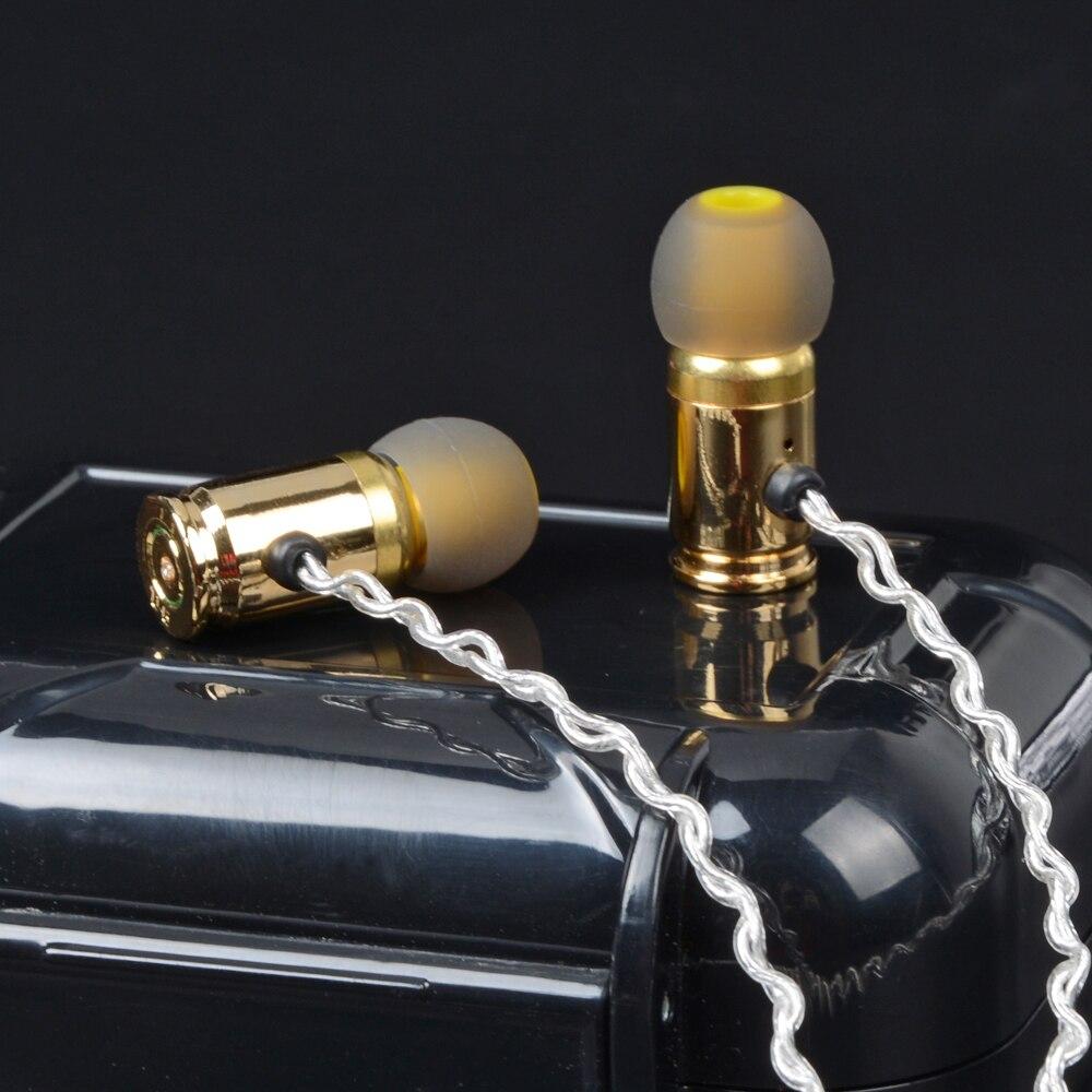 2018 NICEHCK A3 In Trasduttore Auricolare Dell'orecchio Unità Dinamico DJ HIFI Febbre Pallottola del Metallo Involucro Pallottola Auricolare Auricolare Auricolari di Trasporto libero