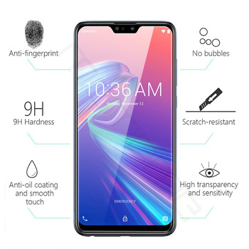 100pcs/lot Premium Tempered Glass For Asus Zenfone Max Plus M2 ZB634KL HD Clear Protective Film For Zenfone Max Shoot ZB634KL