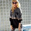 New Fashion Spring Autumn Leopard VS PINK printed Hoody Women Casual Tops Long Sleeve Harajuku VS PINK Hoodies Outerwear