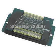 Free Shipping DC5-24V 4CH 8A RGBW led Amplifier Controller High Speed Large Current Power Amplifier for RGBW Led Strip light