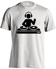 Dj On Action , Music Gift T-SHIRT Novelty, funny, slogan t shirts. RT767V New T Shirts Funny Tops Tee Unisex