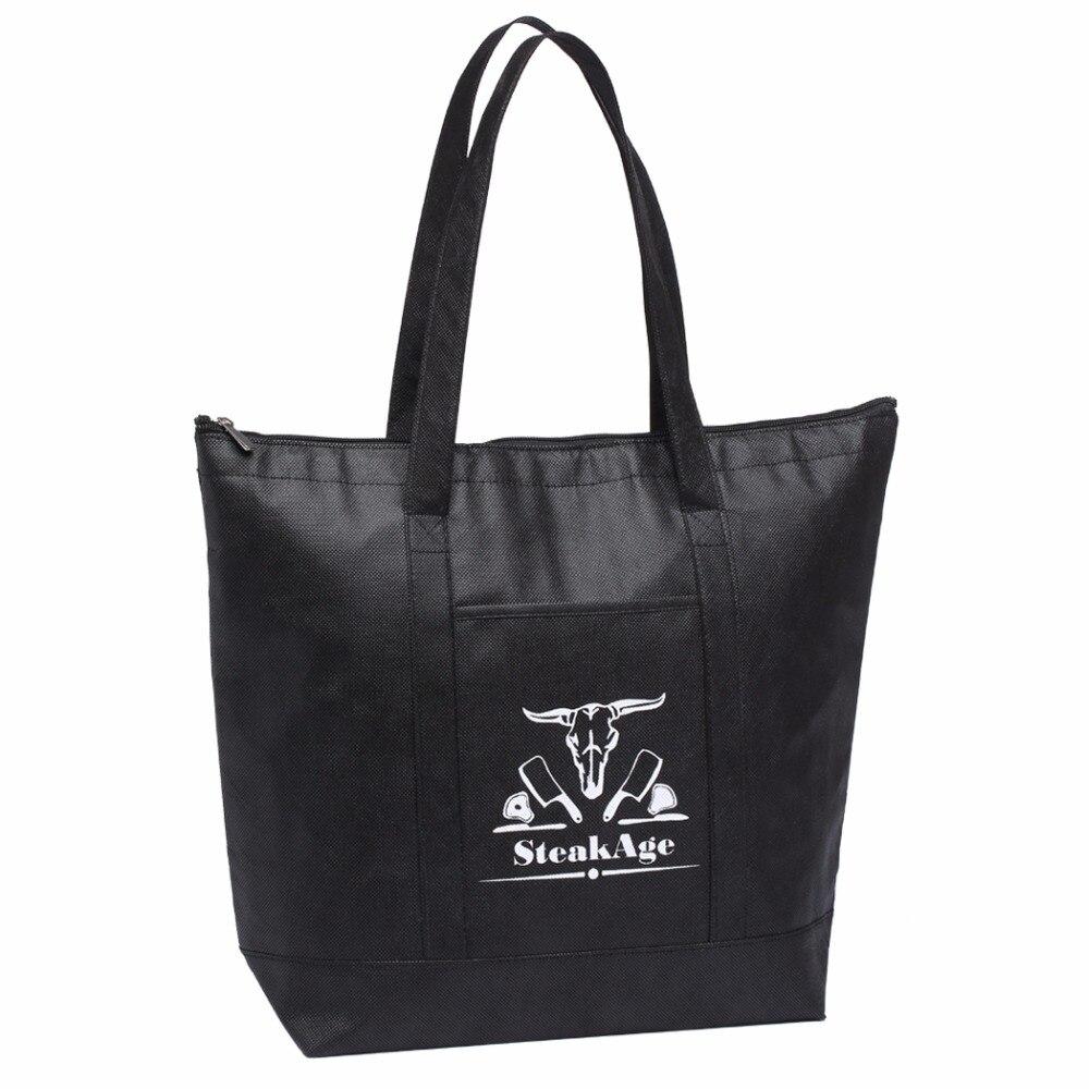 High-quality Customized Insulated Handbag Large Lunch Cooler Bag Logo For Food Custom Reusable Nevera Portatil Eco Bag