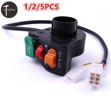 1/2/5PCS Headlight/Horn/Turn Signal Switch For Chinese&Japanese-manufactured 7/8″ handlebars Motorcycle Scooter