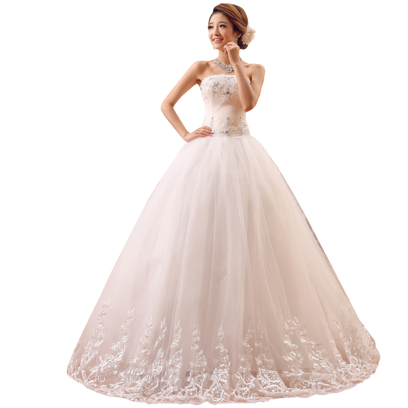 Wedding Dress Ball Gowns Lace Up Bride New Luxury Wedding Dresses Princess Dresses Plus Size