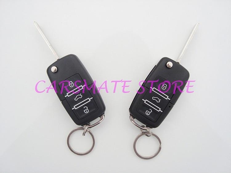 Классическая дистанционная автомобильная система центрального замка с передатчиками с откидным ключом, множество пустых ключей выбираются для всех автомобилей 12 В Carsmate