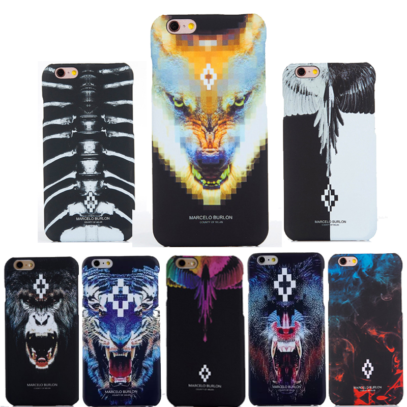 disponibilità nel Regno Unito 10ea1 bf6ef New For Coque iphone 5S Marcelo Burlon Cover Tiger Monkey ...