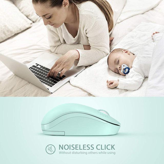 1600 DPI Simple Wireless Mini Mouse