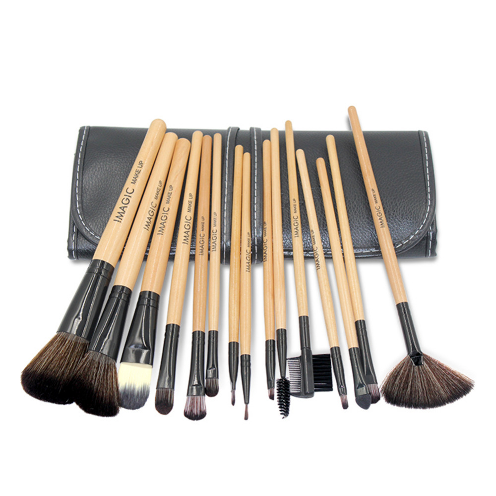 Pro 12pcs Classic Makeup Brush Set High Quality Cosmetics Make up Brushes Eyebrow Eyes Eyeshadow Concealer Brush For shadows 8pcs makeup brushes cosmetics eyeshadow eyeliner brush kit 15 color concealer facial care camouflage makeup palette sponge puff