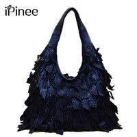 Genuine Leather Luxury Tassels 100 Real Cow Leather Elegant Multi Functional Big Shoulder Bags For Women