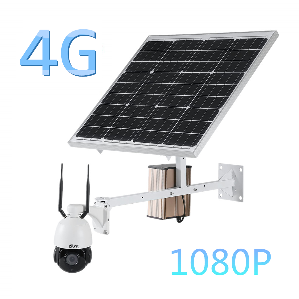 3G 4G Wireless Solar Camera 60W Power Battery 1080P Outdoor Waterproof Wifi IP Camera SIM Card Security Surveillance CCTV Camera