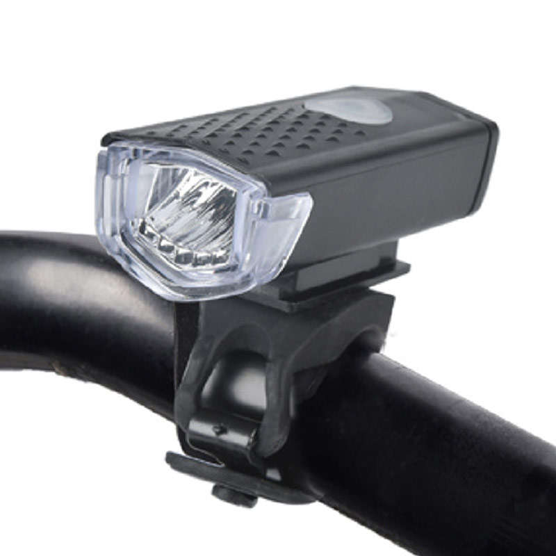 RAYPAL Rechargeable USB LED Bicycle Bike Flashlight Lamp MTB Front Bicycle Cycling Light Headlight Headlamp Bike Bycicle Light