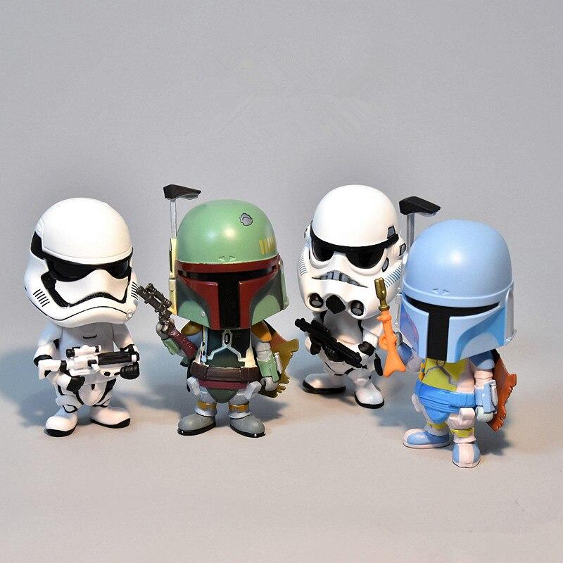 Image 3 - Carro Ornamento Para Figura de Ação de Star Wars Stormtrooper Painel Interno de Automóveis Balançando A Cabeça Da Boneca Acessórios de DecoraçãoOrnamentos   -