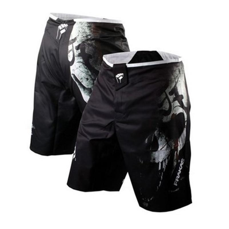 Hommes De Boxe Shorts MMA Troncs Mauvais Bo Lutte Short Jiu Jitsu Muay Thai Pantalon Mince Muay Thai Formation Shorts