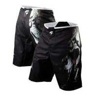 Hommes Shorts de boxe MMA troncs Bad Bo Shorts de combat Jiu Jitsu Muay Thai pantalon mince Muay Thai Shorts d'entraînement