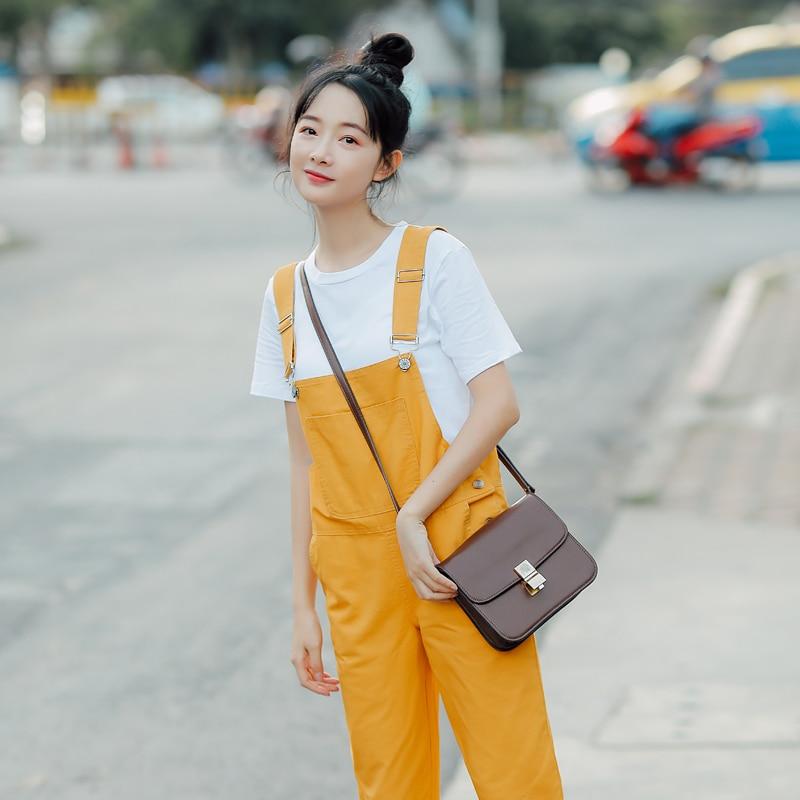 Neue Trendy Fisch Stickerei Frauen Overalls Beiläufigen Frauen Overalls Süße Weibliche Koreanische Mode Frauen Overall Student Stil Rabatte Verkauf Anzüge & Blazer