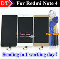 High Quality LCD Display+Digitizer Touch Screen Assembly For Xiaomi Redmi Note 4 Hongmi Note 4 Cellphone With Free Tools