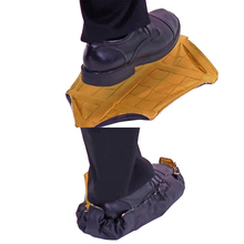 Step-In-Sock Shoe-Covers Automatic Stocks Portable One-Step-Hand 2pcs/pair