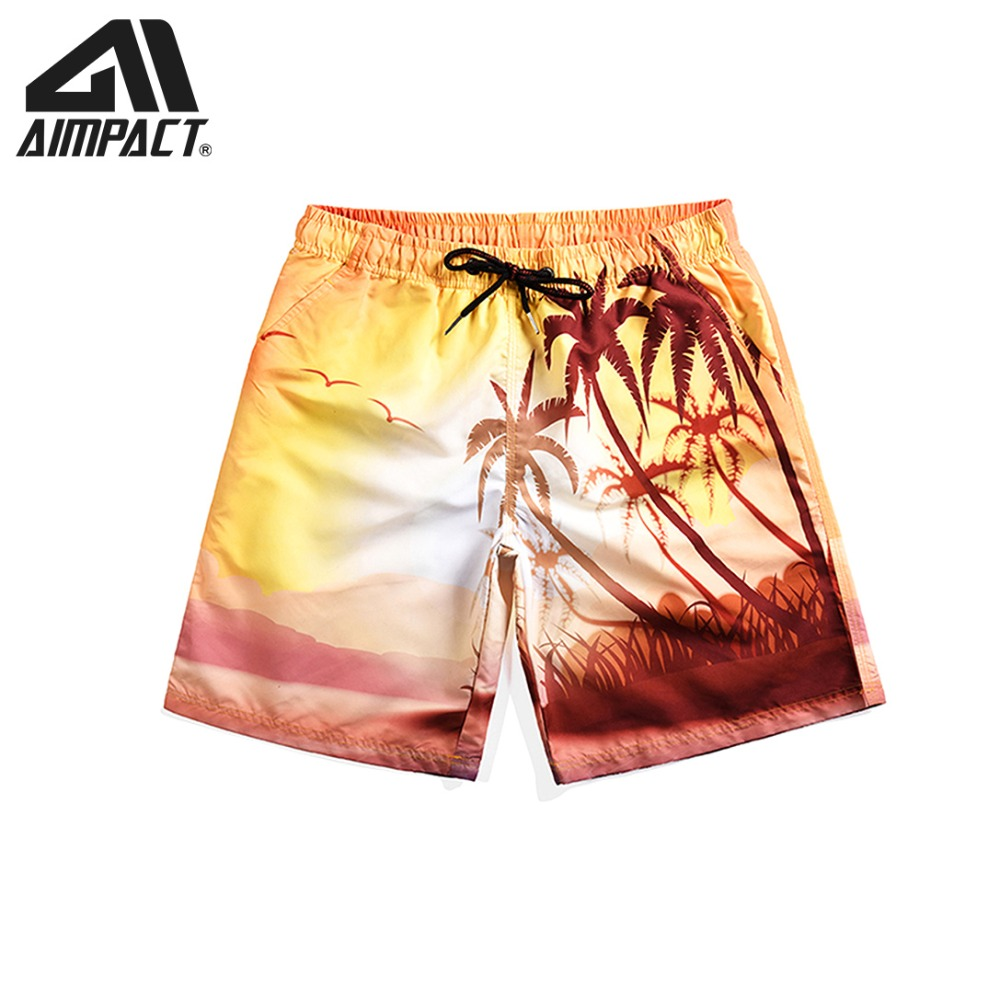 Quick Dry   Board     Shorts   for Men Summer Beach Surf Coconut Swimming   Shorts   Male Fashion Swim Trunks Casual Hybird   Shorts   AM2113