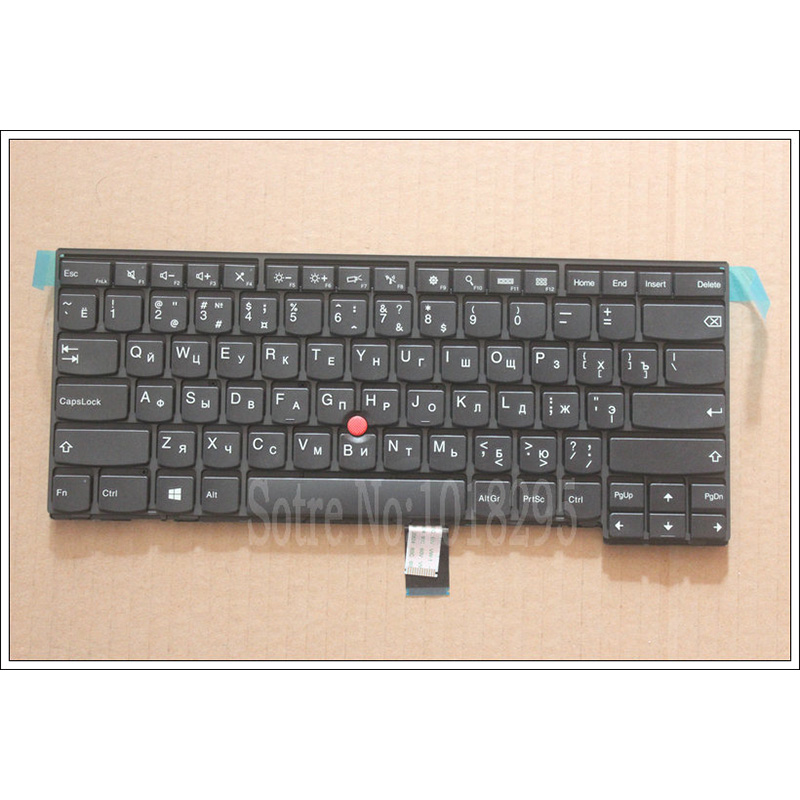 100% New For Lenovo ThinkPad L440 E431 E440 L450 Russian RU Laptop Keyboard Without backlight new laptop keyboard for ibm thinkpad x240 x240s x240i x250 0c44043 04x0238 ru russian layout