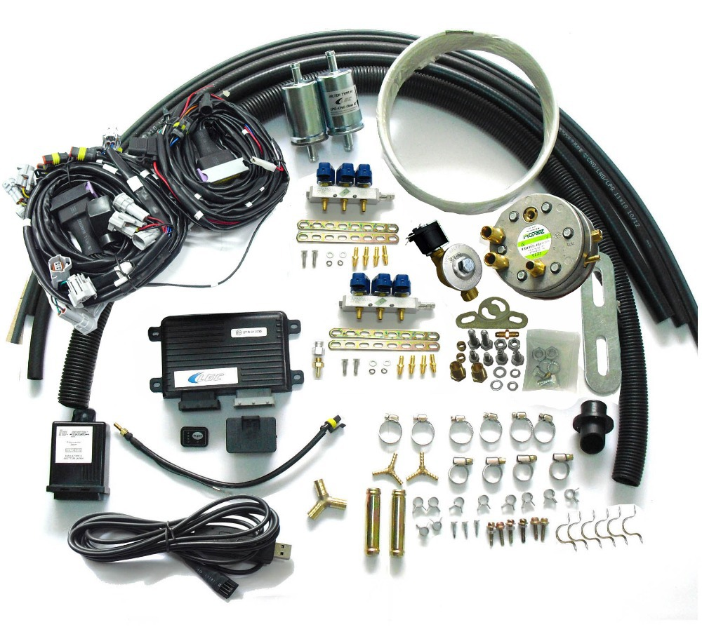 Propane LPG Sequential Injection System Conversion Kits for gasoline Cars  of 5 or 6 cylinder SFI Engine on Aliexpress.com | Alibaba Group