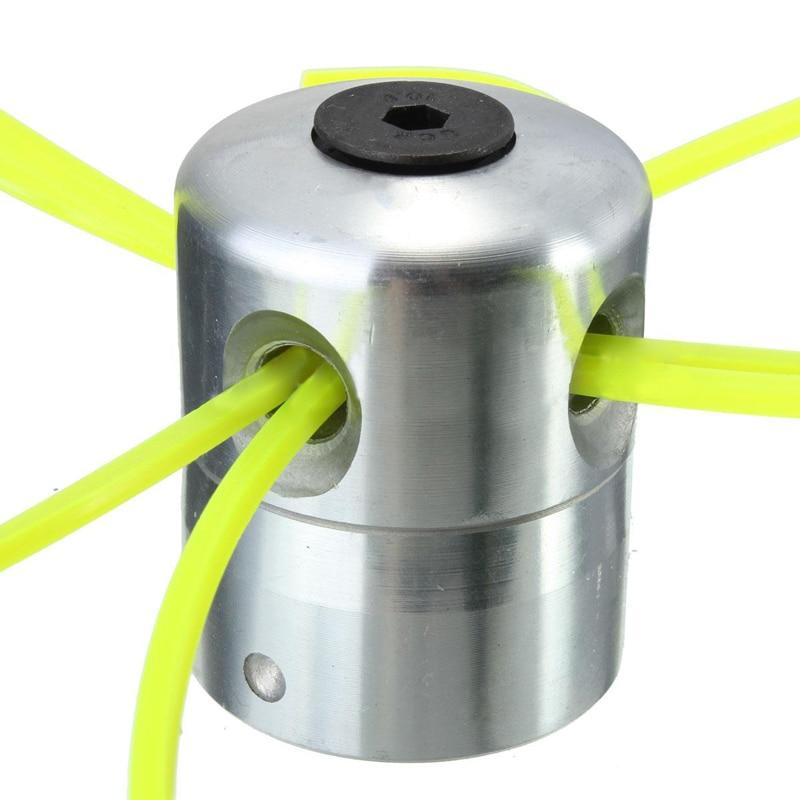 Universal Aluminum Trimmer Head Parts Set Lawn Mower Cutting Line Head for Garden Tools Part head струна head lynx set