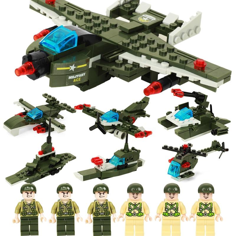 452-936 pcs Militaire Blocs Réservoir Missiles Motif Briques Blocs de Construction Avec 6 pcs Militaire Poupées Figurines Cadeau Jouet pour les Enfants Garçons