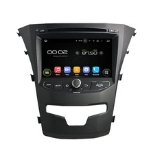 7″ Android 6.0 Octa-core Car Multimedia Player For SsangYong Korando 2014 Free MAP Car Video Audio Stereo Car DVD Player
