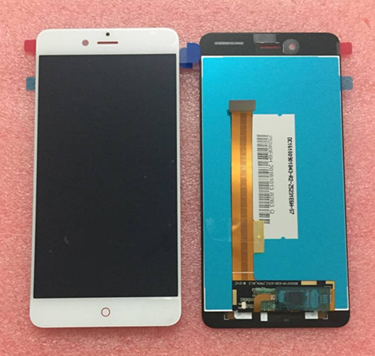 Org LCD screen display +Touch panel Digitizer For 5.2 ZTE Nubia Z11 mini S NX549J black/white free shipping