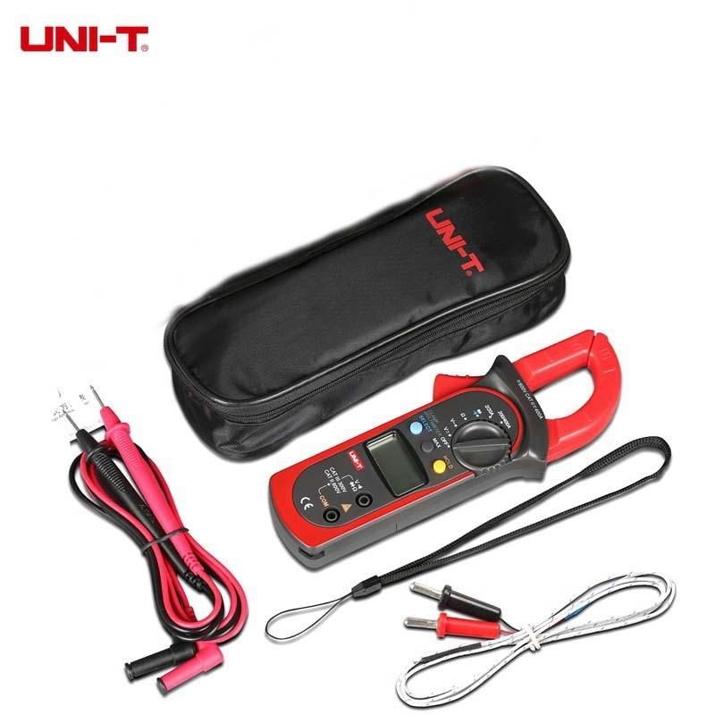 UNI-T UT202 maultipurpose meter with temperature auto range Max. value clamp meters voltimetro amperimetro токовые клещи uni t ut202