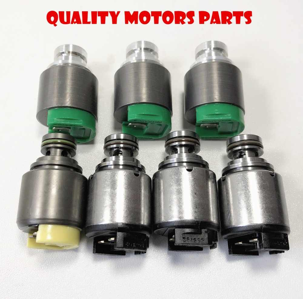 5hp19 Transmission Solenoid Set 7pc For Audi A4 A6 Vw