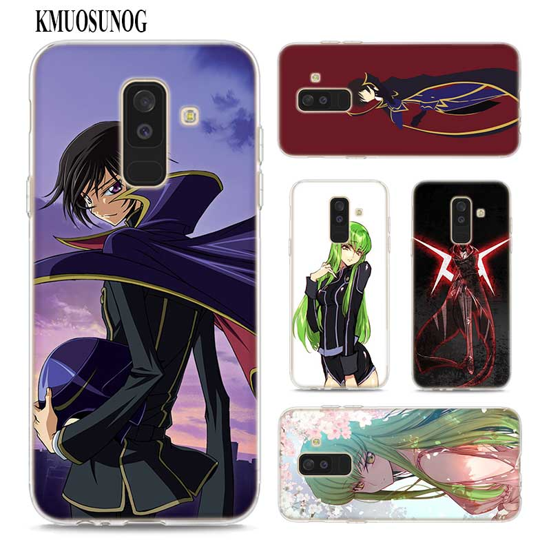 US $1 62 43% OFF|Transparent Soft Silicone Phone Case anime Code Geass  Lelouch for Samsung Galaxy A9 A8 Star A7 A6 A5 A3 Plus 2018 2017 2016-in  Fitted
