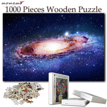 MOMEMO Puzzle 1000 Pieces Wooden Games Toys Jigsaw Puzzles for Adults Kids Children Educational