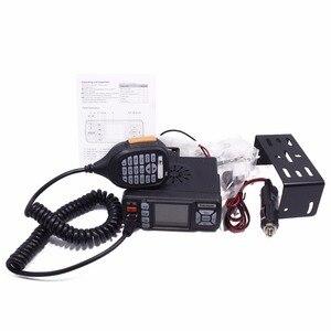 Image 5 - Baojie BJ 318 Mini Vehicle Mount Car Radio Station 256CH 10km 25W Dual Band VHF/UHF Mobile Radio Transceiver Upgrade of BJ 218