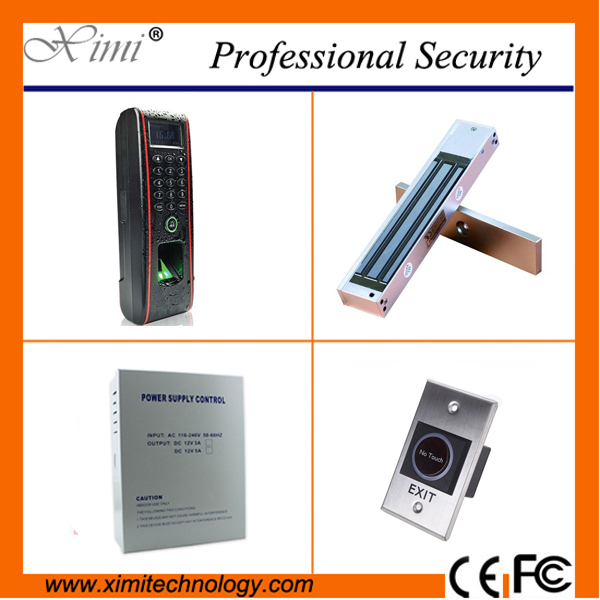 ZK fingerprint reader waterproof samrt biometric door lock 3000 user fingerprint access control system tcp/ip time attendance